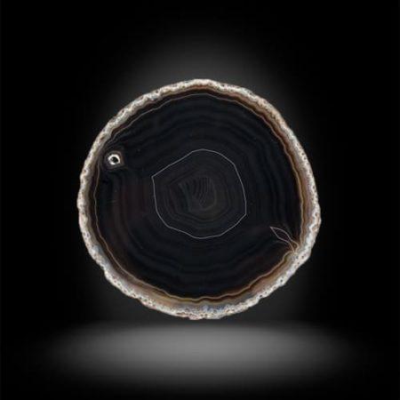 камень черный агат свойства